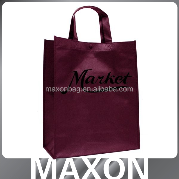 Shenzhen fashion cheap non woven promotional bag logo printed pp non woven bag for <strong>packing</strong>