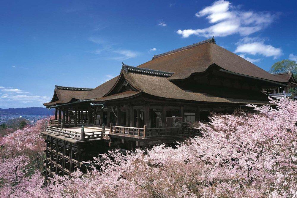 50025 1//400 Kiyomizu-dera Temple World Culture Heritage japan import