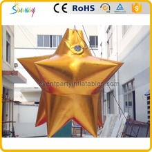 Outdoor christmas decorations inflatable gold star model