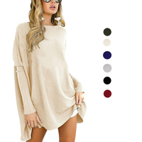 Bulk Wholesale High Quality Autumn Women Clothing Blank Fitted Long Sleeve T Shirt
