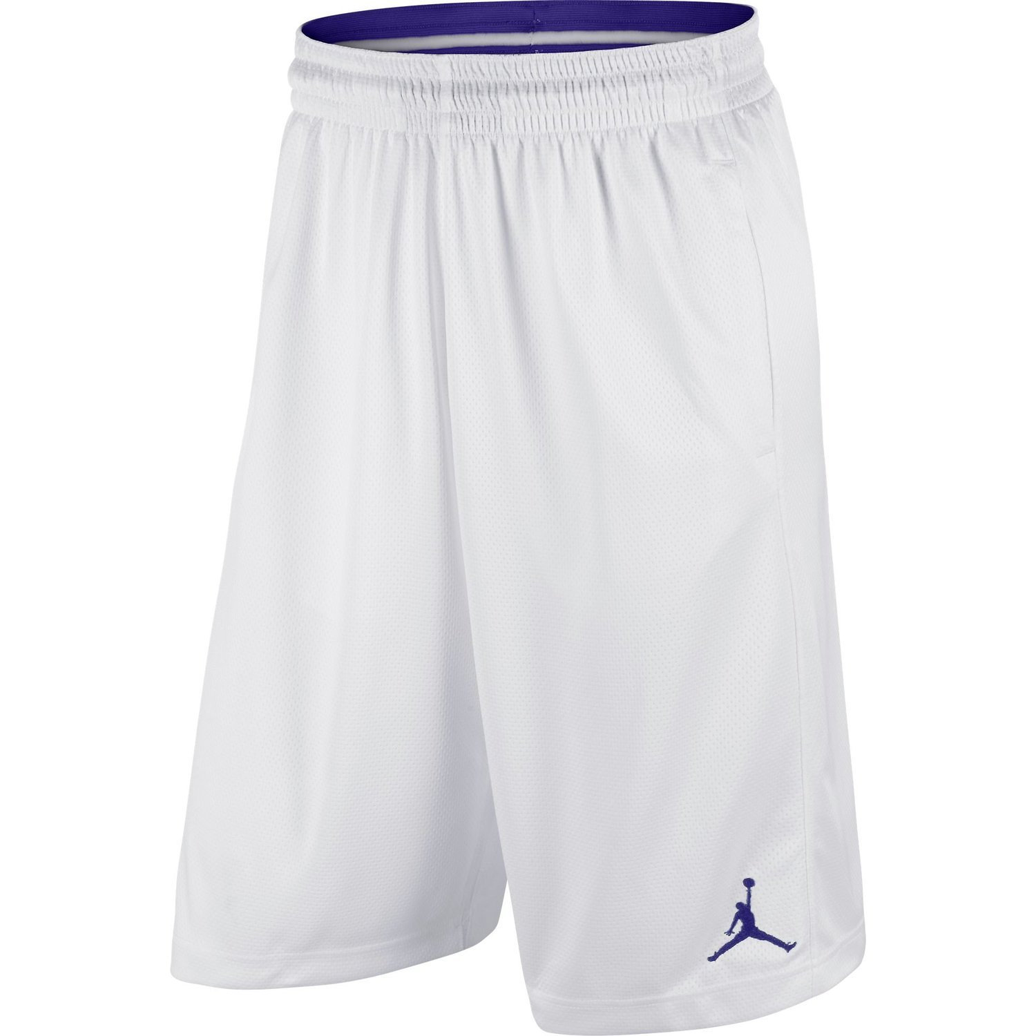 e88675ffcae Get Quotations · Jordan AJXI Men's Basketball Shorts White/German Blue  612943-100