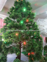 2013 wholesale christmas pine tree with colorful lights