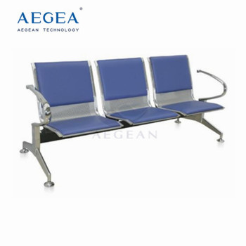 AG-TWC002 With 3 seats color optional hospital waiting chair for sale