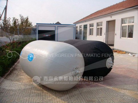 Evergreen Maritime factory High quality 50 80kpa pressure floating marine pneumatic rubber fender for ship berthing and mooring