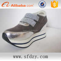 China shoe factory directly cheap price women fashion shoes trainers