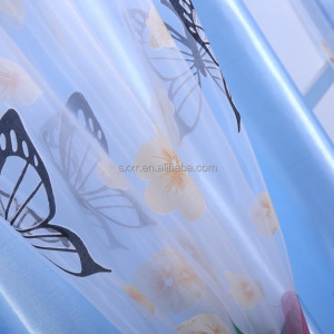 japanese style canvas door curtain for kids butterfly design curtains