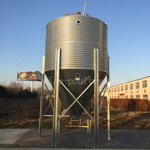 High quality industry and professional poultry feeding system silo