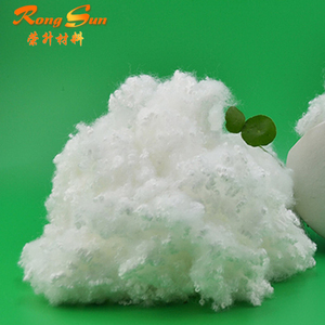 AAA grade fluffy polyester staple fiber &pillow filling material