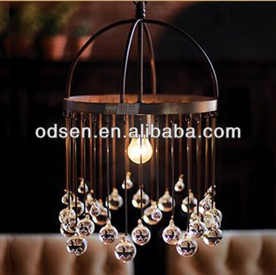 Halogen Lighting Malaysia Pendant Lamp With Crystal