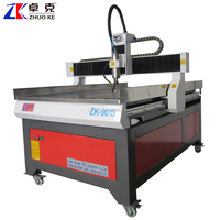 China CNC Router 9015 For Wood Metal Stone 900*1500*150mm With 2.2Kw Spindle PCI NCStudio Controller ZK-9015