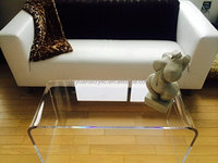Acrylic Dining Table For Furniture / Coffee Table Decoration