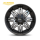 "Car Wheels Wheel Wheels Aluminium Car ZUMBO A0081 Black Face Machined Universal Modified Car Alloy Wheels Rims 20"" Aluminum Alloy Wheel Rim For Car"