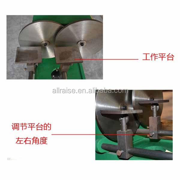 metal buffing machine