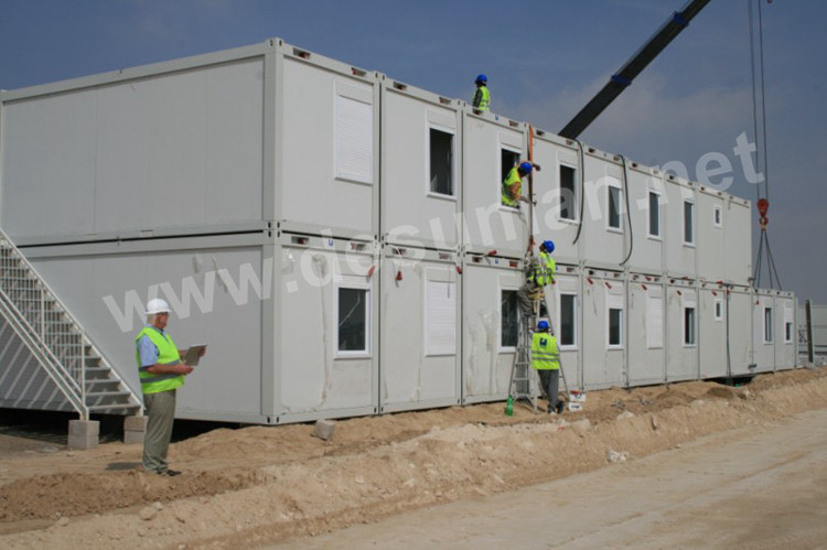 Luxury expandable self contained 40 feet 40ft prefabricated flat pack living shipping container hotel house