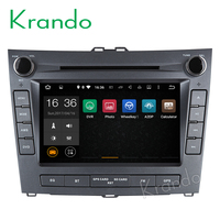 "Krando Android 7.1/8.1 8"" touch screen car audio radio player for BYD L3 multimedia gps navigation system BT DAB+ KD-BY702"