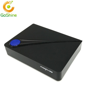 Goshine New 2017 Full HD dvbt2 dvbs2/C combo android tv box dvb DVB-T2 digital tv receiver s912 Magicsee C300 pro