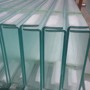 SYS Customized Design Exterior U Profile Glass Curtain Wall 2-25MM