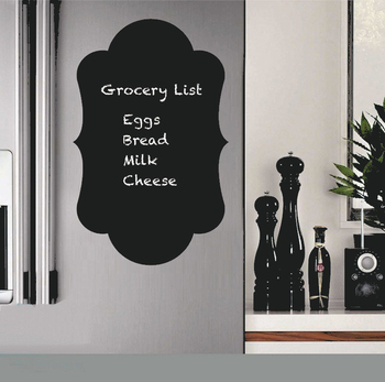 High Quality Magnetic Chalkboard Dry Erase Board Decorative Wall Chalkboard Stickers