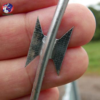Razor Barbed Wire Price Per Roll/razor Wire Fence - Buy High Tensile ...
