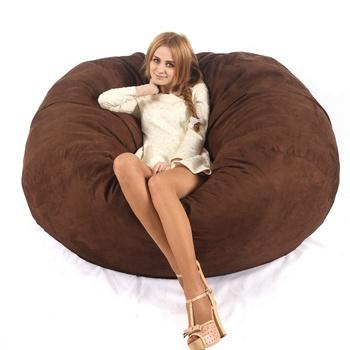 Prime Giant Faux Fur Cover Foam Bean Bag Fat Sack Buy Bean Bag Giant Bean Bag Fat Sack Bean Bag Product On Alibaba Com Machost Co Dining Chair Design Ideas Machostcouk