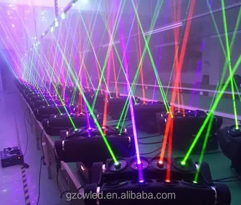 Laser Effect 8 Head Beam Moving Light Spider Rgb Sharpy Led Disco Projector Lighting