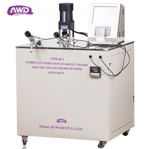 Automatic Machine Lubricant Oxidation Stability Testing Equipment ASTM D2272 Rotating Pressure Vessel Oxidation Instrument