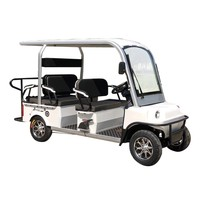 2019 hot selling electric golf car 1200w cheap factory price 6 seats