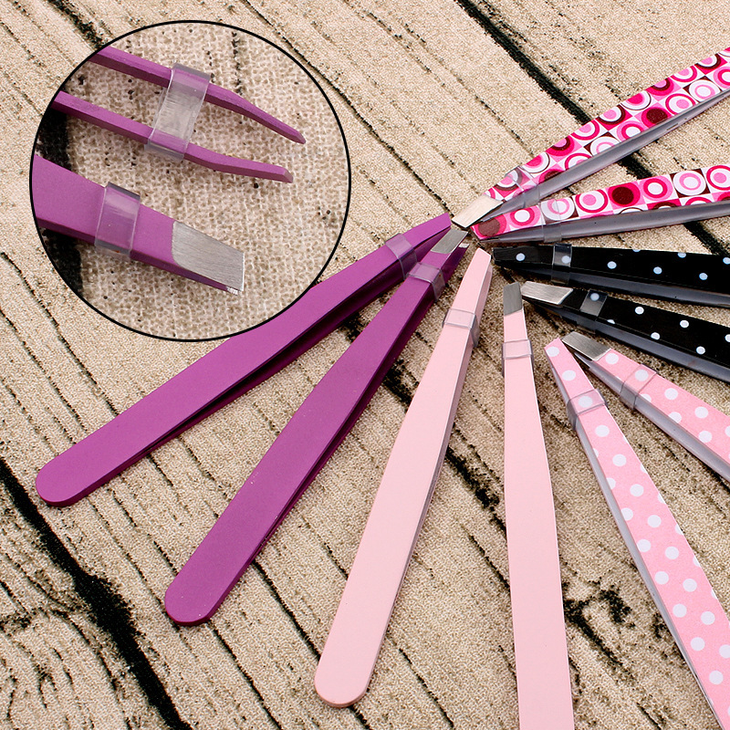 Purple Eyebrow Tweezer