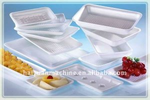 plastic disposable plate/tray/dishes making machine