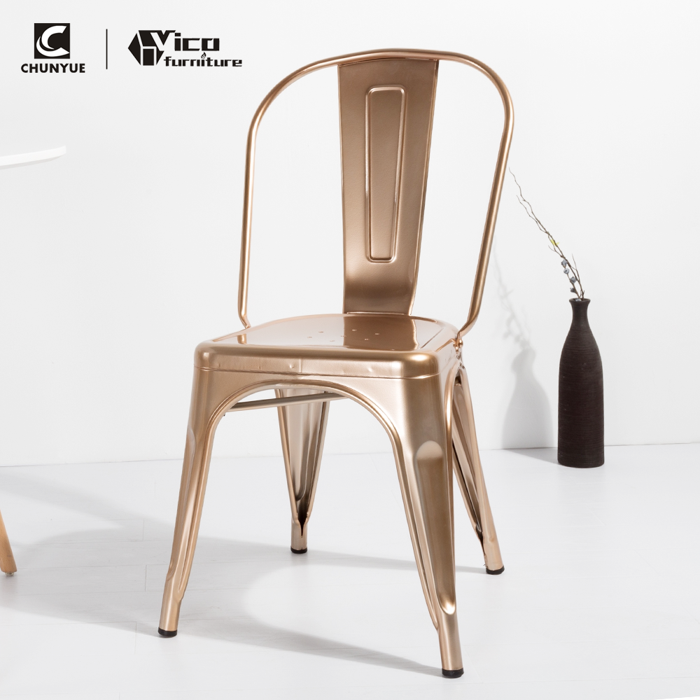 Fabulous Distressed Metallic Stackable Design Cafe Dining Chairs Buy Vintage Iron Chairs Cheap Dining Room Best Price Restaurant Product On Alibaba Com Gmtry Best Dining Table And Chair Ideas Images Gmtryco