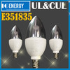 E14 Mini led light 5w 360 degree UL led candle 5w & e14 led candle