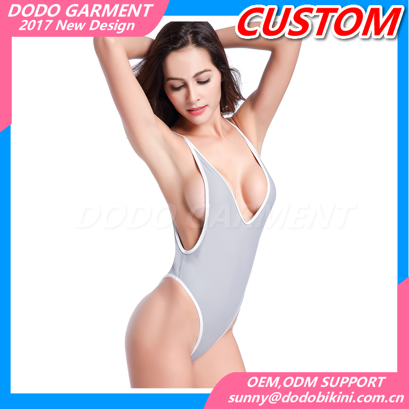 Women Swimsuits One Piece Swimwear Sexy Backless Thong Bikini