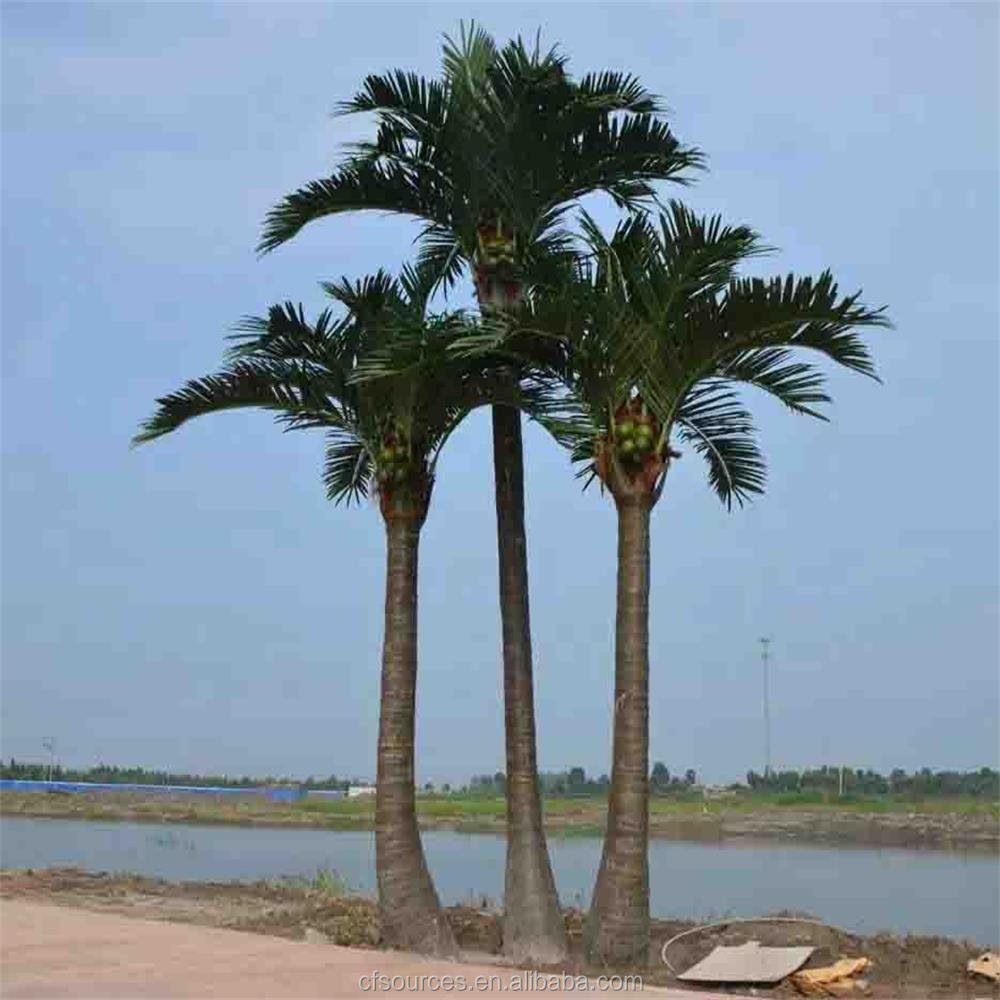 2017 High Quality Large Outdoor Artificial Palm Trees