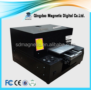 Digital Spot Flatbed UV Business Card Printing Machine for Sale