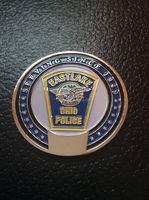Custom design high quality Low Price Custom Eastlake Ohio Policeman Department Challenge Coin