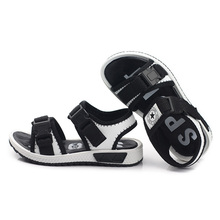 Kids Sandals 2018 Beautiful Boys Sandals PU Fashion Boys Beach Sandals