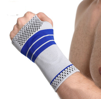 Hand Palm Brace with Silicone Gel Pad Insert for Pain Relief