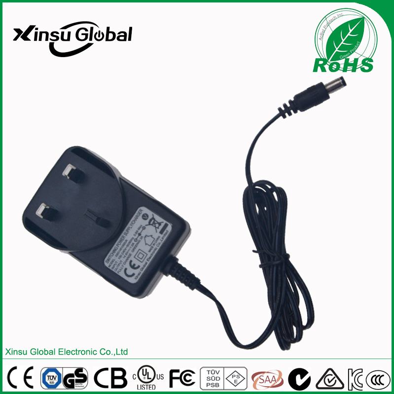 DC Output UK AU US EU Plug 14.5V Battery Charger