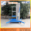 6m single mast hydraulic aluminum ladder portable electric lift manufacture