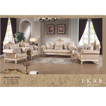 Clic Luxury Furniture 3 2 1 Seater Fabric Sofa Set