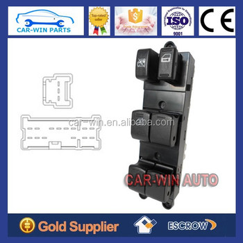 Electric Window Master Control Switch For Nissan Pathfinder 2005 2008 Manual Changeover