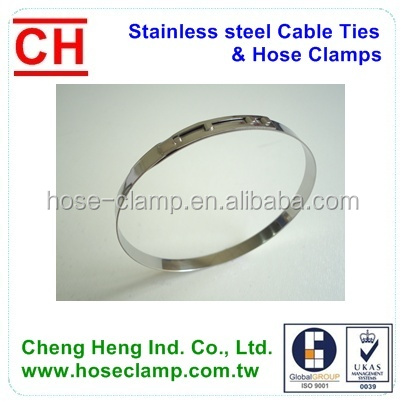 Earless clamp ring, Low Profile Clamps,CV Joint Boot Clamps
