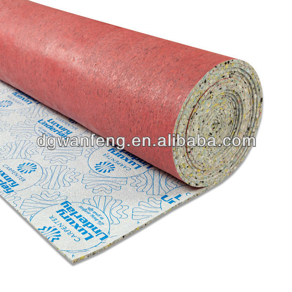 Gym Anti slip floor rebond foam carpet