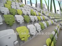 professional design high-quality anti-aging tip-up arena seating for indoor sport games like badminton,table tennis,rugby