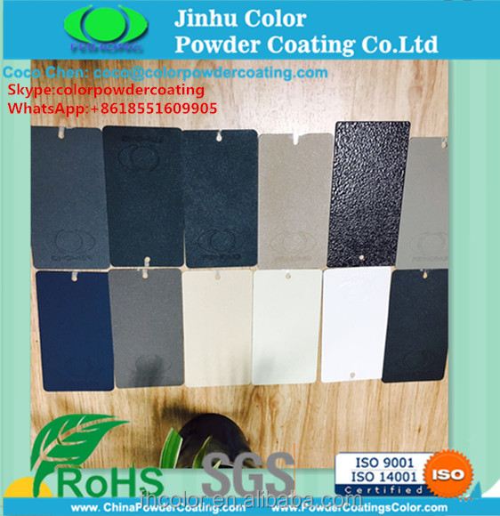 electrostatic spray thermosetting RAL7035 RAL7032 Grey textured wrikle Color Powder Coating paint