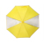 kid transparent yellow child safety reflective umbrella with window
