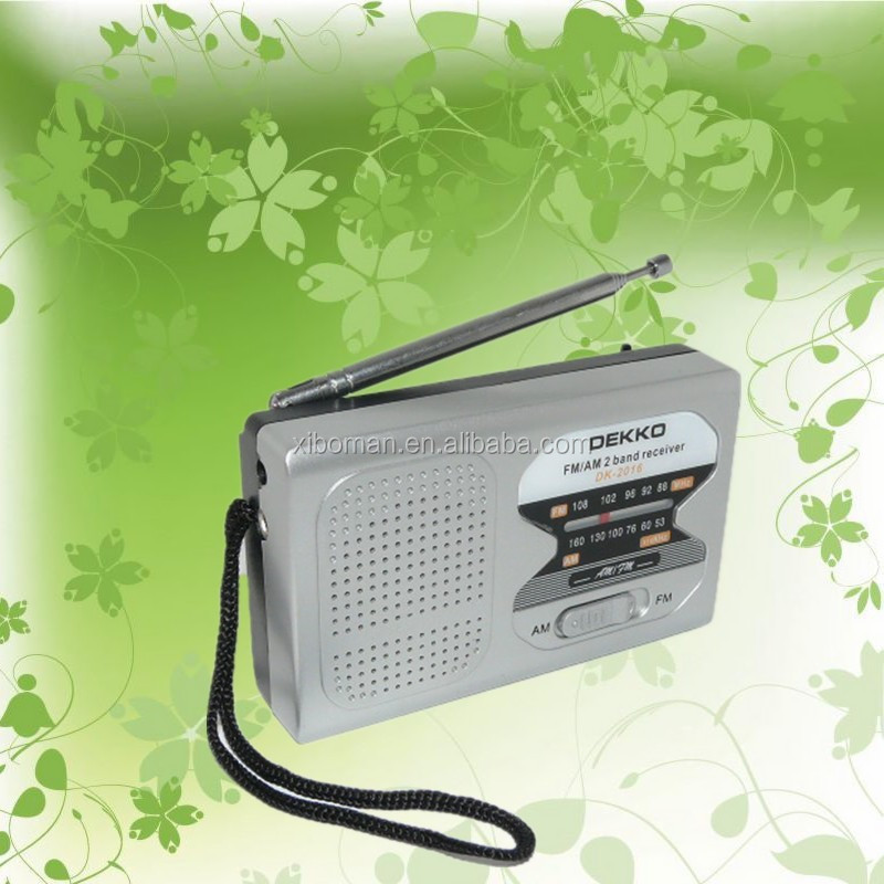 DK - 2016 hot sale mulit color waterproof outdoor radio player