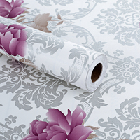China pvc vinyl designs decoration home wallpaper
