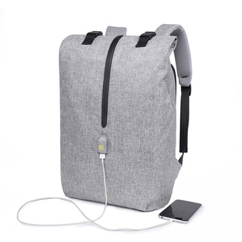 f1b2ee31c8 2018 Anti-theft USB charging port waterproof laptop smart anti theft school bag  backpack rucksack