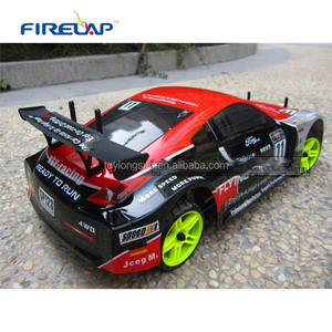 Nitro engine 4WD hobby grade rc car